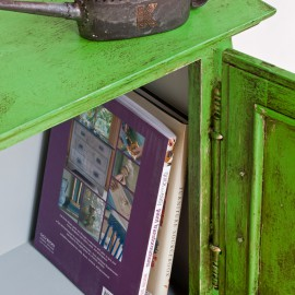 Antibes Green & Paris grey & Dark wax