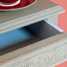 French linen & Louis blue