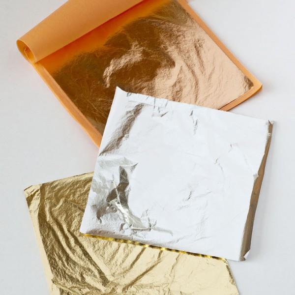 Povrchová úprava-Metalická fólie Loose leaf