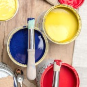 stencil-brush chalk paint