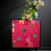 Modern-Geometric-Hexagon-Capri-Pink-chest-of-drawers-1